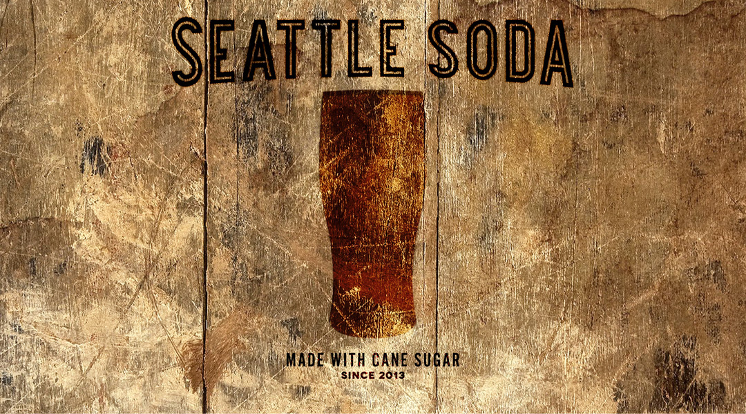 Seattle Soda Logo and Homepage